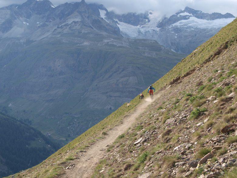 Zermatt Trip der Bikepark Crew